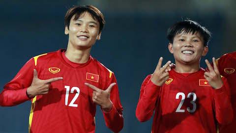 Đông Nam Á bá đạo ở vòng chung kết Asian Cup nữ 2022