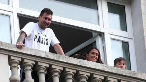 Đạo chích viếng thăm khách sạn nới Messi lưu trú