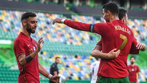 ĐT Bồ Đào Nha triệu tập: Ronaldo trở lại, Felix và Sanches bị loại