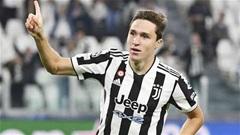 Juventus: Allegri cần tiếp tục để Chiesa đá trung phong