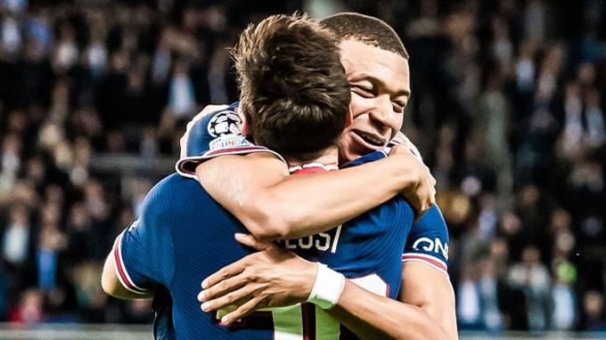 Trong khi đó, Messi và Mbappe đang dần tìm thấy nhau