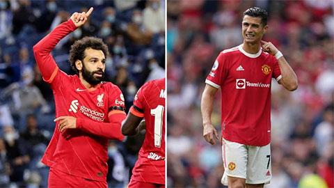 Ronaldo, Salah lọt top 5 cầu thủ đáng xem nhất vòng 7 Ngoại hạng Anh 2021/22