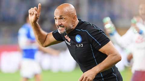 Luciano Spalletti giành giải HLV xuất sắc nhất tháng 9