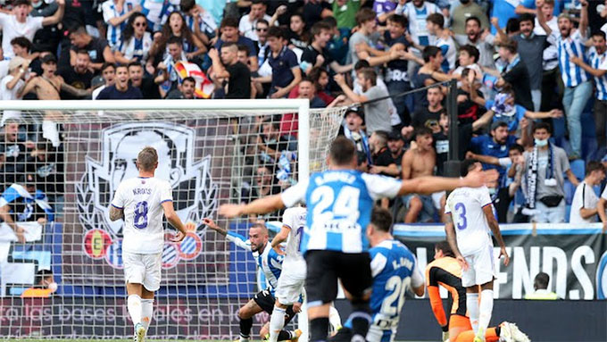 Hàng thủ Real đã có một ngày thi đấu rất tồi