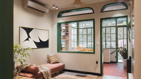 Cải tạo căn hộ tập thể 40m2 thành không gian lí tưởng khiến ai nhìn cũng mê