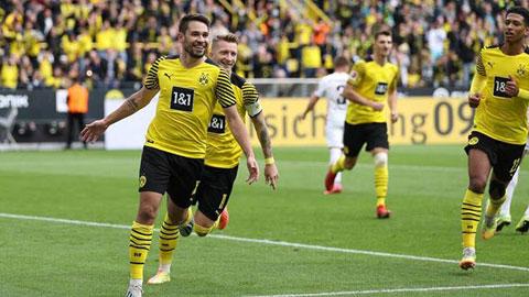 Vắng Haaland không có nghĩa là Dortmund sụp đổ