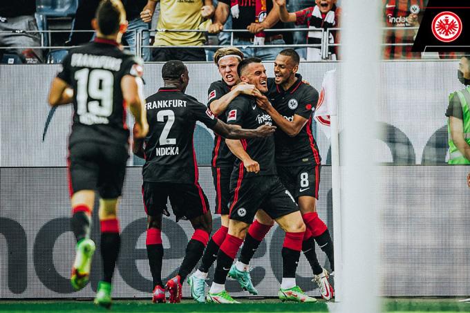 Sau thời gian đầu chuệch choạc, Frankfurt đã chơi rất hay trong phần còn lại của trận đấu