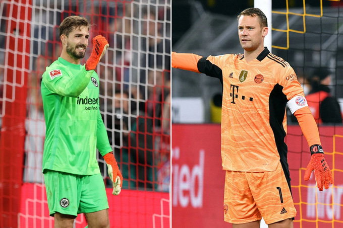 Cả Trapp và Neuer đều thi đấu rất chắc chắn