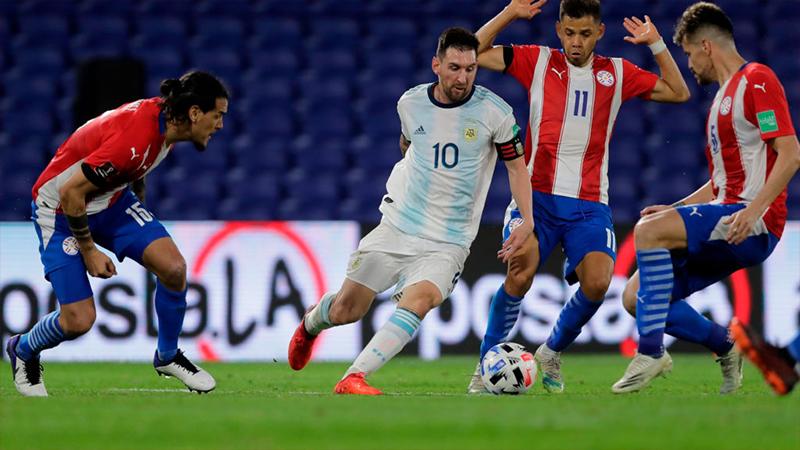 Paraguay đang lép vế rất nhiều so với Argentina