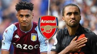 Arsenal nhắm cặp Calvert-Lewin và Watkins để thay Lacazette