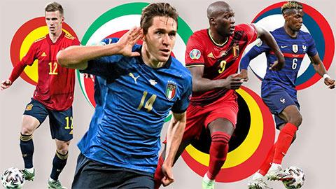 Đánh giá mạnh, yếu 4 đội tuyển ở bán kết Nations League