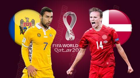 Nhận định bóng đá Moldova vs Đan Mạch, 01h45 ngày 10/10