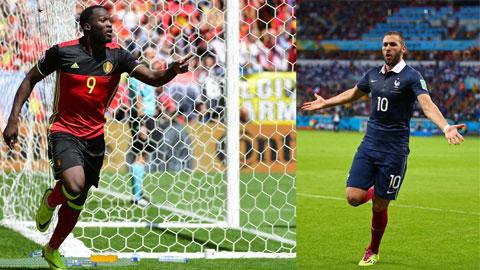Lukaku vs Benzema: Hai màu sắc tương phản