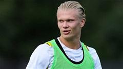 Dortmund tăng lương gấp đôi để giữ chân Haaland