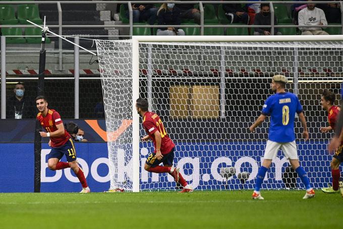 Ferran Torres ghi bàn giúp Tây Ban Nha đánh bại Italia