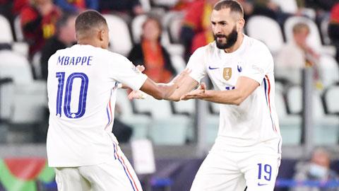 Karim Benzema-Kylian Mbappe, sinh ra là để chơi cạnh nhau!