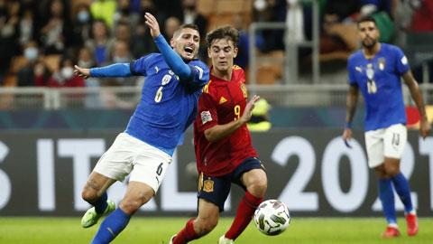 ĐT Italia dừng bước ở bán kết Nations League: Xuống mặt đất để lại bay lên
