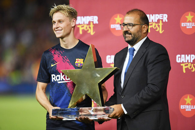 De Jong rất tự tin Barca sẽ sớm lấy lại thói quen chiến thắng