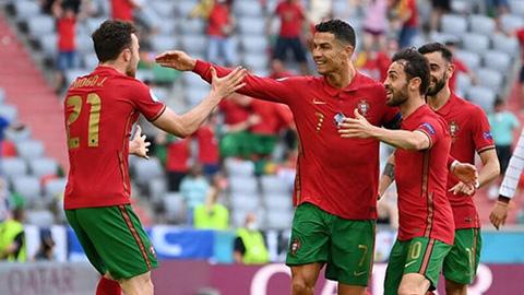 """Ronaldo và đồng đội sẽ dội """"mưa bàn thắng"""" vào lưới của Luxembourg!"""