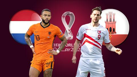 Nhận định bóng đá Hà Lan vs Gibraltar, 01h45 ngày 12/10: Chỉnh lại thước ngắm