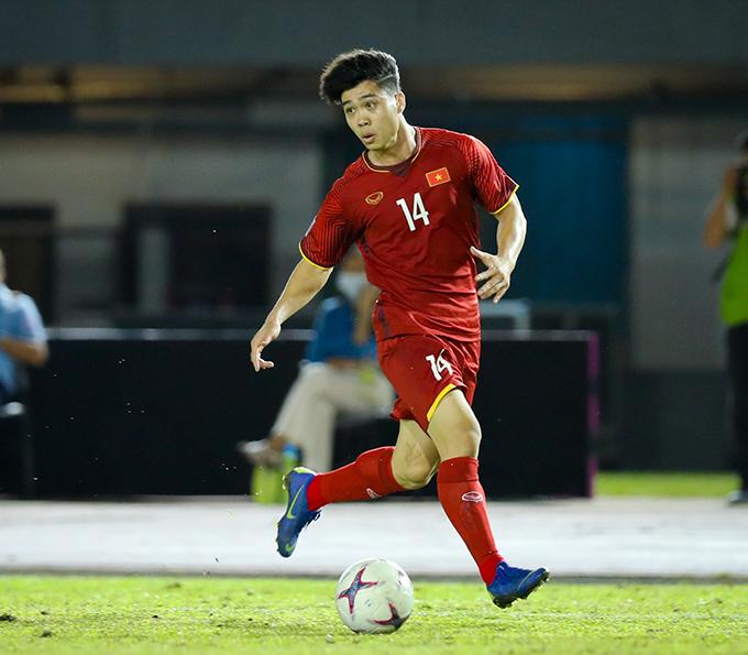 Công Phượng chỉ được thi đấu 10 phút ở trận gặp Trung Quốc
