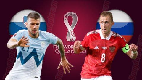 Nhận định bóng đá Slovenia vs Nga, 01h45 ngày 12/10