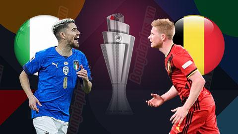 Nhận định bóng đá Italia vs Bỉ, 20h00 ngày 10/10: Phần thưởng an ủi cho Quỷ Đỏ