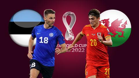 Nhận định bóng đá Estonia vs Wales, 1h45 ngày 12/10