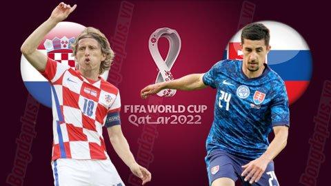 Nhận định bóng đá Croatia vs Slovakia, 01h45 ngày 12/10