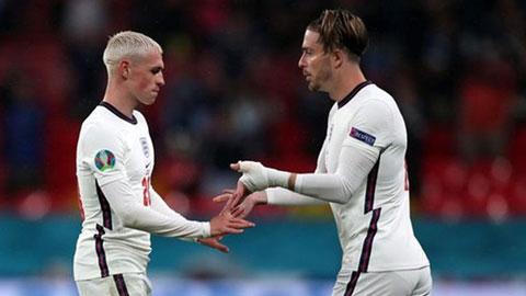 Man City và ĐT Anh đều chưa khai thác tối đa bộ đôi Foden - Grealish