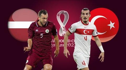 Nhận định bóng đá Latvia vs Thổ Nhĩ Kỳ, 01h45 ngày 12/10