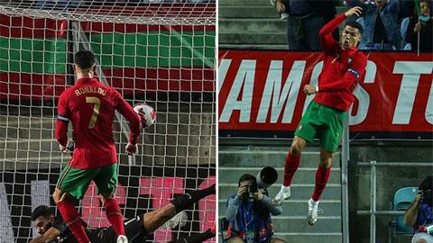 Ronaldo lập thêm 2 kỷ lục sau trận Bồ Đào Nha hủy diệt Qatar