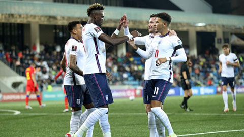 ĐT Anh hủy diệt Andorra với tỷ số 5-0: Show diễn của 'đội hình B'