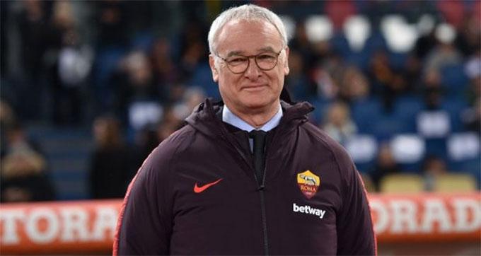 HLV Ranieri gây được ấn tượng rất tốt ở Roma