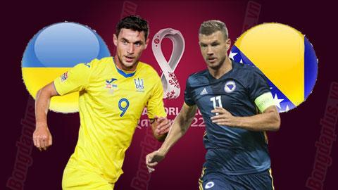 Nhận định bóng đá Ukraine vs Bosnia, 01h45 ngày 13/10