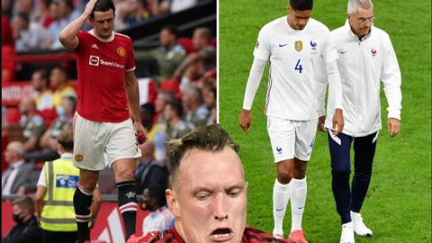 Man United khủng hoảng trung vệ, Phil Jones sẽ có cơ hội?