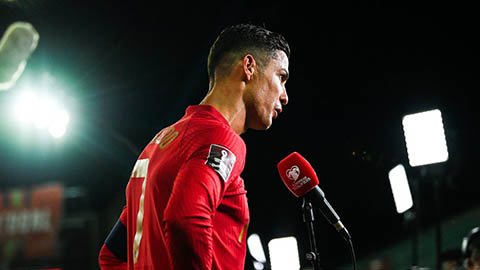 Ronaldo quyết tâm tiếp tục lập kỷ lục ở ĐT Bồ Đào Nha