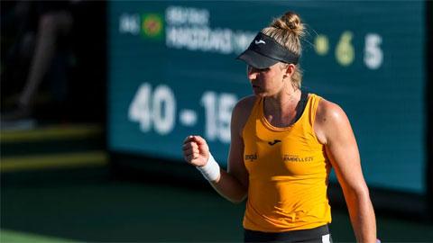 Karolina Pliskova thua tay vợt 115 thế giới ở vòng ba Indian Wells 2021