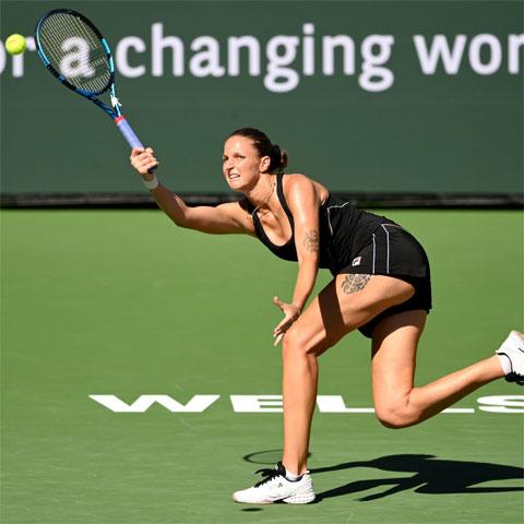 Karolina Pliskova mắc tới 12 lỗi kép trong cả trận