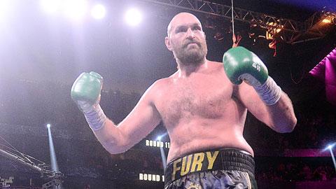 Tyson Fury bảo vệ thành công đai WBC
