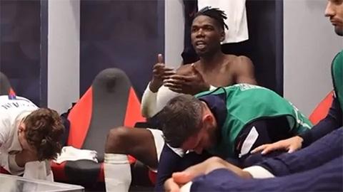 Pogba là thủ lĩnh trong phòng thay đồ ở tuyển Pháp