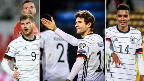 Điểm nhấn từ chiến thắng của ĐT Đức: Ấn tượng Werner, Mueller và Musiala