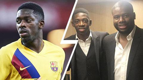 Barca không tin người đại diện của Dembele
