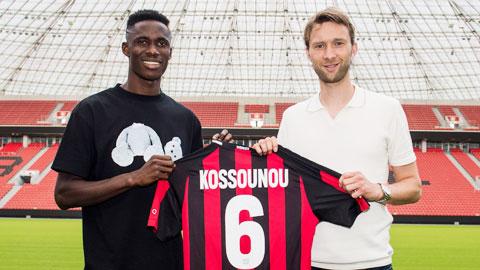 Kossounou, nền tảng cho bước tiến của Leverkusen
