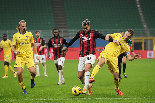 Verona là đối thủ không dễ chơi nhưng Milan nhiều khả năng vẫn sẽ giành chiến thắng