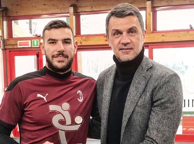 Theo Hernandez có quan hệ rất tốt với GĐKT Paolo Maldini của Milan