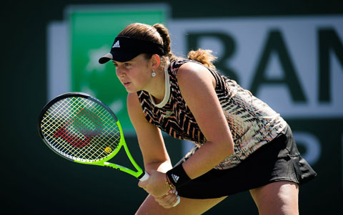 Jelena Ostapenko tận dụng thành công 8/19 cơ hội có break-point