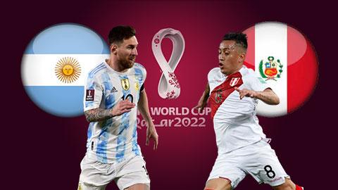 Soi kèo Argentina vs Peru, 06h30 ngày 15/10: Argentina thắng kèo châu Á