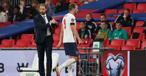 Harry Kane đã trải qua 76 phút vô hại trước hàng thủ ĐT Hungary