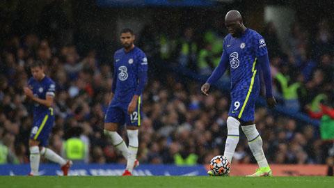 Đã 5 trận liên tiếp gần đây, Lukaku không ghi bàn cho Chelsea
